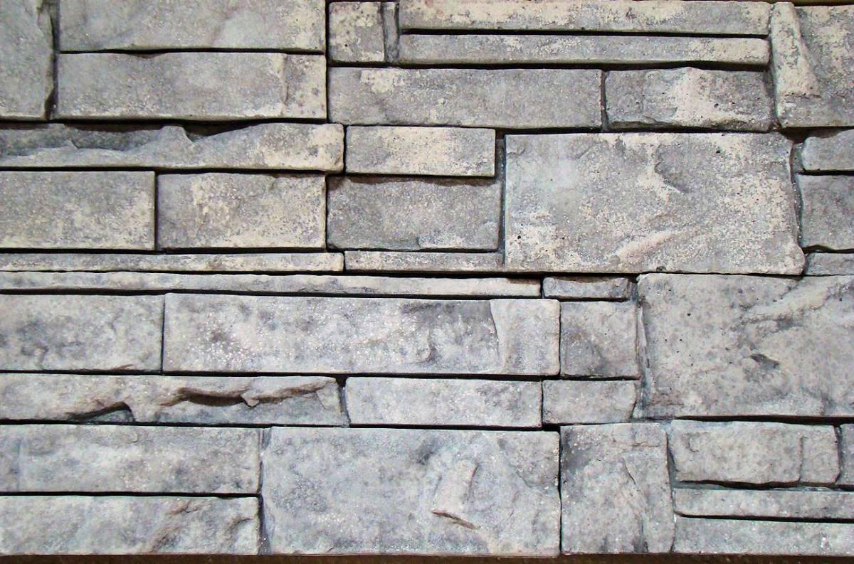 Moldes para fabricar revestimientos en piedra artificial - Pared de piedra artificial ...